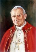 Johannes Paul II. Portrait von Andrey Kulagin