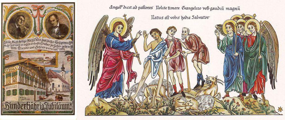Galli Cantus Stille Nacht Heilige Nacht Auf Latein O Silens Nox