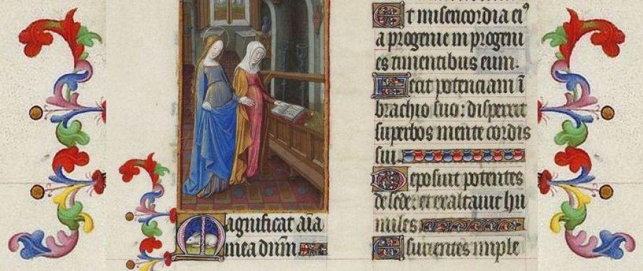 Das Magnifikat (Magnificat anima mea dominum) - Auszug aus einem Buch