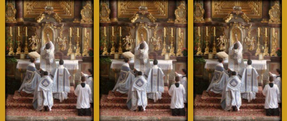Heilige Messe, Tridentinische Messe, Alte Messe, Pius V., Überlieferter römischer Ritus